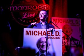 MONROE'S Live hosting Presidential campaign in 2012