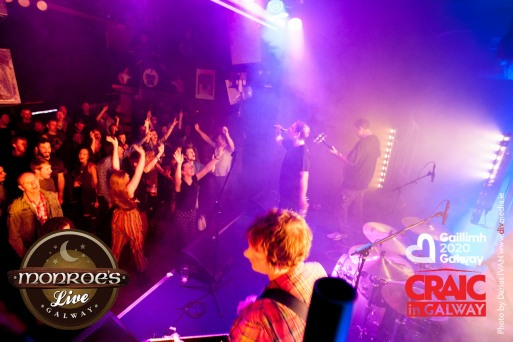 Pictured in Monroe's Live, Thursday 9th July 2015 with 'The Complete Stone Roses'. www.monroes.ie