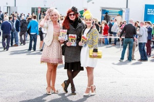 Fashionistas at the Races