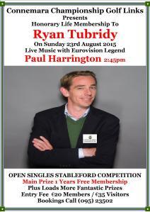 Ryan Tubridy Honorary member