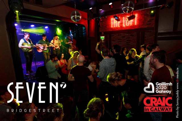 Pictured Saturday 8th August, having the CRAIC in SEVEN Bridge Street and The LOFT Venue. Galway's most enticing Bar, Restaurant and Venue! Seven prides itself on being on-trend, and is a hub for artists, musicians, locals and visitors alike. www.sevenbridgestreet.ie @7_BridgeStreet #CraicInGalway #IBackGalway