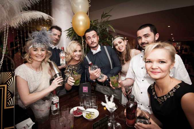 The HOUSE Team is ready to make your party an unforgetable experience! Photo by Martina Regan