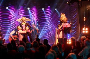 @IrishTV Christmas Show 2015 at Taylor's Three Rock Hotel in Dublin. A Bit of the CRAIC with the Dubs! Photo by Darius Ivan www.irishtv.ie