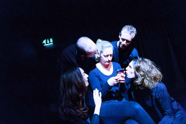 The CRAIC in Galway had a look at the final rehearsal of THE SNOW QUEEN, play scripted by Sarah O'Toole and Donnacha Bushe Directed by Darragh O'Brien. SNOW QUEEN is running the lines in Town Hall Studio in Galway 9 - 12th December. Photo by Darius Ivan www.thecraicingalway.com