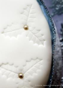 Christmas cakes detail