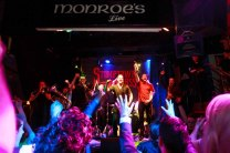 'STOMP TOWN BRASS' Pictured entertaining the crowd in Monroe's Live Saturday 23rd January 2016. Photo by Darius Ivan. Explore Monroe's Live online at www.thecraicingalway.com/monroes-live