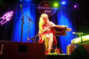 Pictured in Monroe's Live Tuesday 29/12/2015 enjoying a concert Sharon Shannon and Band. For details and listings log on to www.monroes.ie
