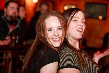 Pictured enjoying a night with 'MEGABEAT' in the Quay's Music Hall in Galway Thursday 21st January 2016! Having a Party? Call Quays (091) 568 347! Photo by Darius Ivan http://thecraicingalway.com/the-quays-bar-galway/