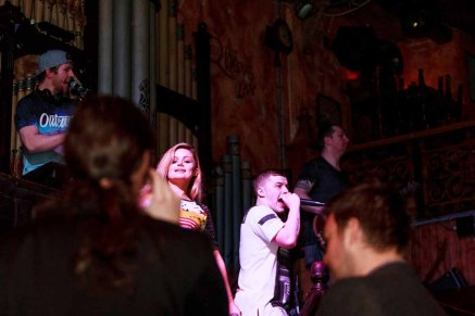 Pictured enjoying a night with 'MEGABEAT' in the Quay's Music Hall in Galway Thursday 21st January 2016! Having a Party? Call Quays (091) 568 347! Photo by Darius Ivan https://thecraicingalway.com/the-quays-bar-galway/