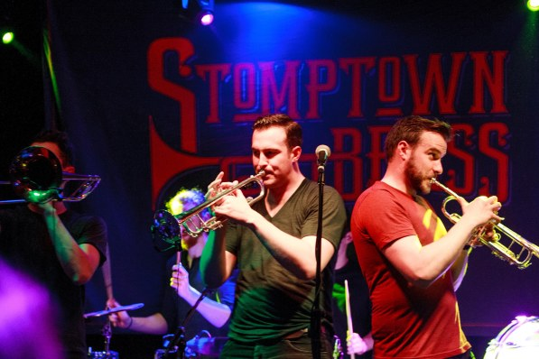 The IMRO Live Music Venue of the Year Awards 2015 will take place on Tuesday, February 16th in Dublin. Give your voice to the best one here: https://goo.gl/hiqwBk.   Pictured in Monroe's Live Saturday 23rd January 2016. Entertainment by 'STOMP TOWN BRASS', Photo by Darius Ivan. Explore Monroe's Live online at www.thecraicingalway.com/monroes-live