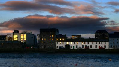 The Galway magic hour