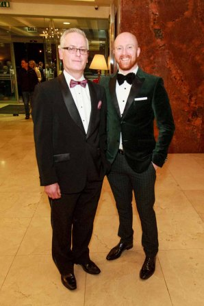 Daoire O' Ceallaigh Nicky Lawless pictured in the Salthill Hotel at Hand in Hand Ball last Saturday 6th February. Photo by Darius Ivan