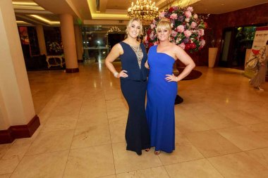 Olwyn Cronin Martha and O'Toole pictured in the Salthill Hotel at Hand in Hand Ball last Saturday 6th February. Photo by Darius Ivan