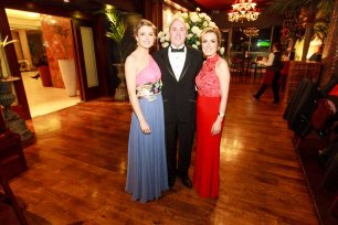 Sorcha Molloy, Brian Power and Valerie Power pictured in the Salthill Hotel at Hand in Hand Ball last Saturday 6th February. Photo by Darius Ivan
