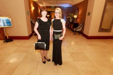 Margaret Monaghan and Niamh Cullen pictured in the Salthill Hotel at Hand in Hand Ball last Saturday 6th February. Photo by Darius Ivan