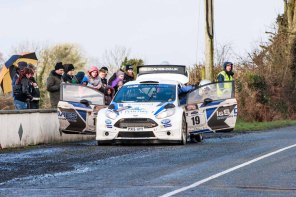 Corrib Oil Galway International Rallly 2016. Saturday 6th February Stage at Corcally Beg. Photo by Darius Ivan, sponsored by Mileage Tyres Galway, www.mileagetyresgalway.ie