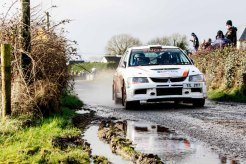Jason McSweeney/Stephen Quin - National category 3rd at Corrib Oil Galway International Rallly 2016. Saturday 6th February Stage at Corcally Beg. Photo by Darius Ivan, sponsored by Mileage Tyres Galway, www.mileagetyresgalway.ie