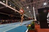 Canadian Melissa BISHOP landing for gold with time 2:00.60 leaving Adelle TRACEY 2:02.34 GBR second and Anastasiya TKACHUK Anastasiya 2:02.44 third at AIT GRAND PRIX 2016 Athlon IT. Photo by Darius Ivan www.irishtv.ie