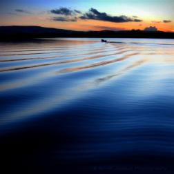 The blue hour at Oughterard pier