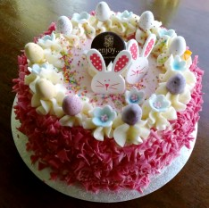 The bunny cake 🎂