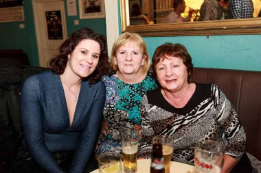 Mother's Day Eve in The Keoghs in Oughterard with entertainment by The Rye.