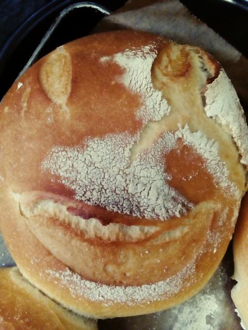 Faces of the Sourdough bread 🍞