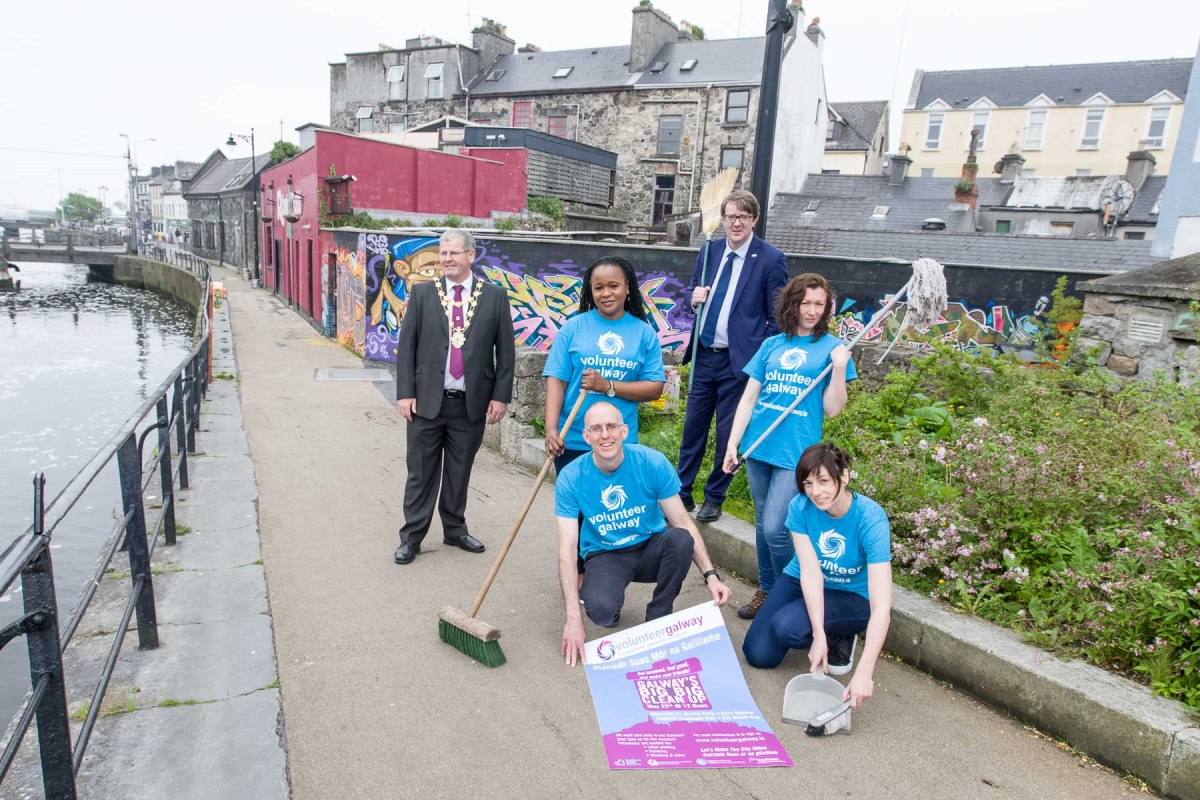 Volunteer Galway call to Clean-Up city for the summer 2016