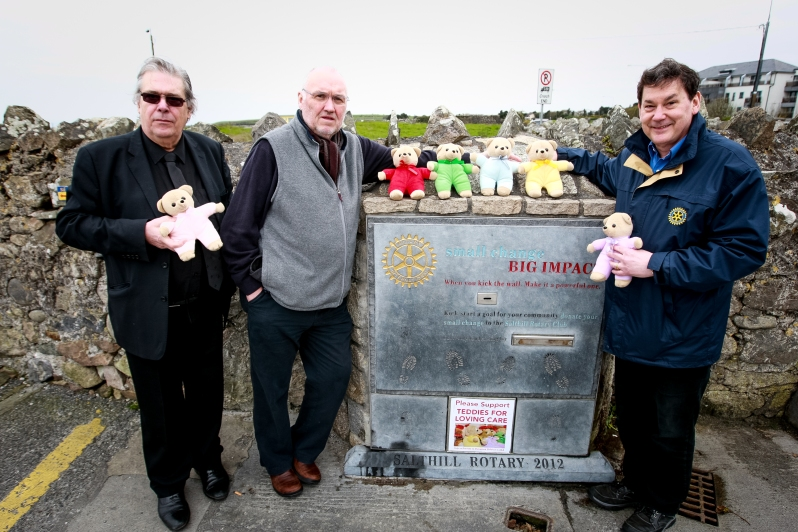 ROTARY TEDDIES FOR LOVING CARE-4037
