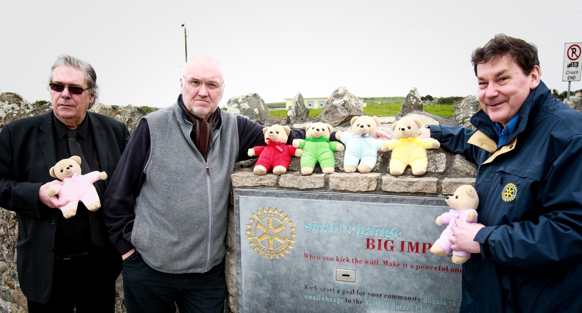 Kick The Wall for TLC Charity | Rotary Teddies for Loving Care