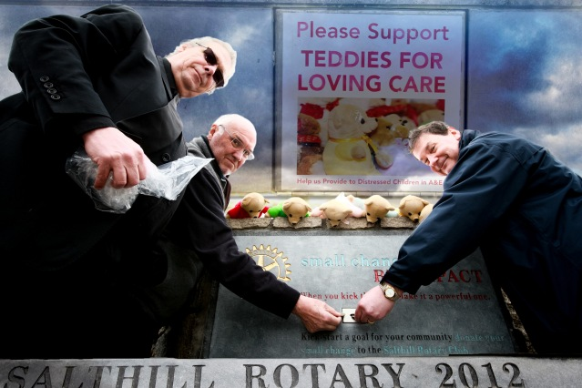 ROTARY TEDDIES FOR LOVING CARE