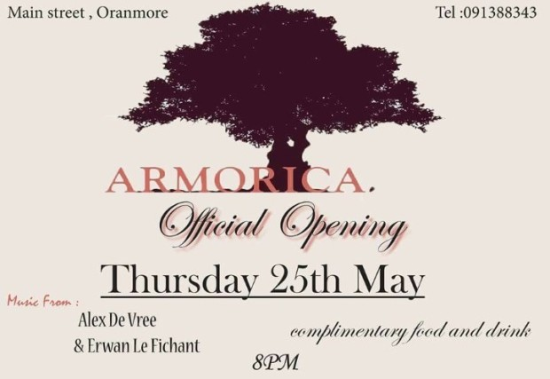 ARMORICA OPENING OFFICIAL POSTER