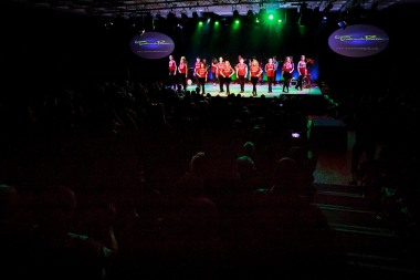 Final monent of the last show of the 13th season at 'Trad on The Prom'   Ireland's No.1 Music, Dance and Song Show 2017 in Leisureland Galway. Photo by Darius Ivan