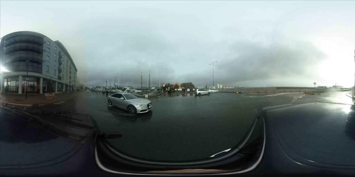 Hurricane Ophelia Hitting Galway | VR360