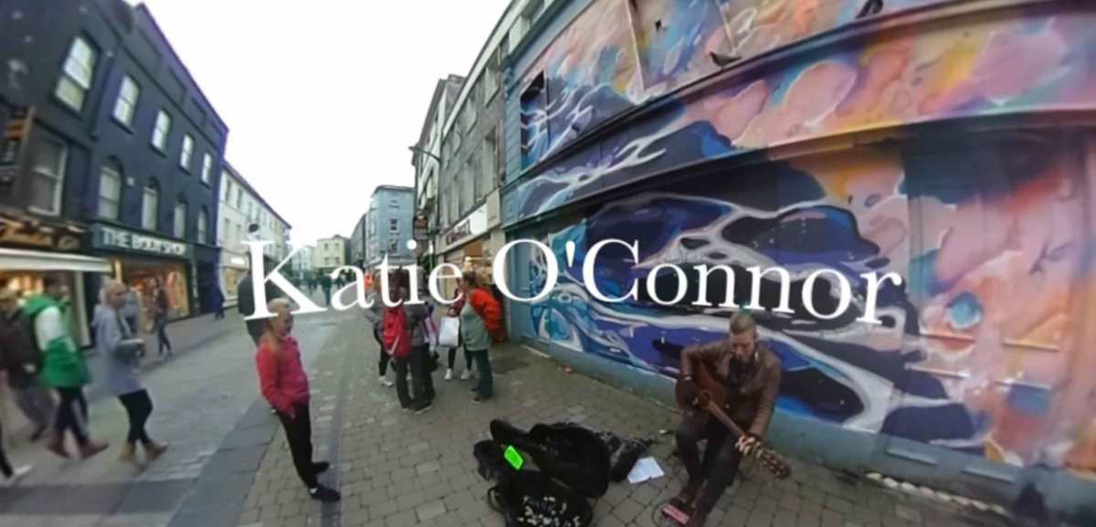 Wednesday Night In The Streets Of Galway Ft Busking Katie