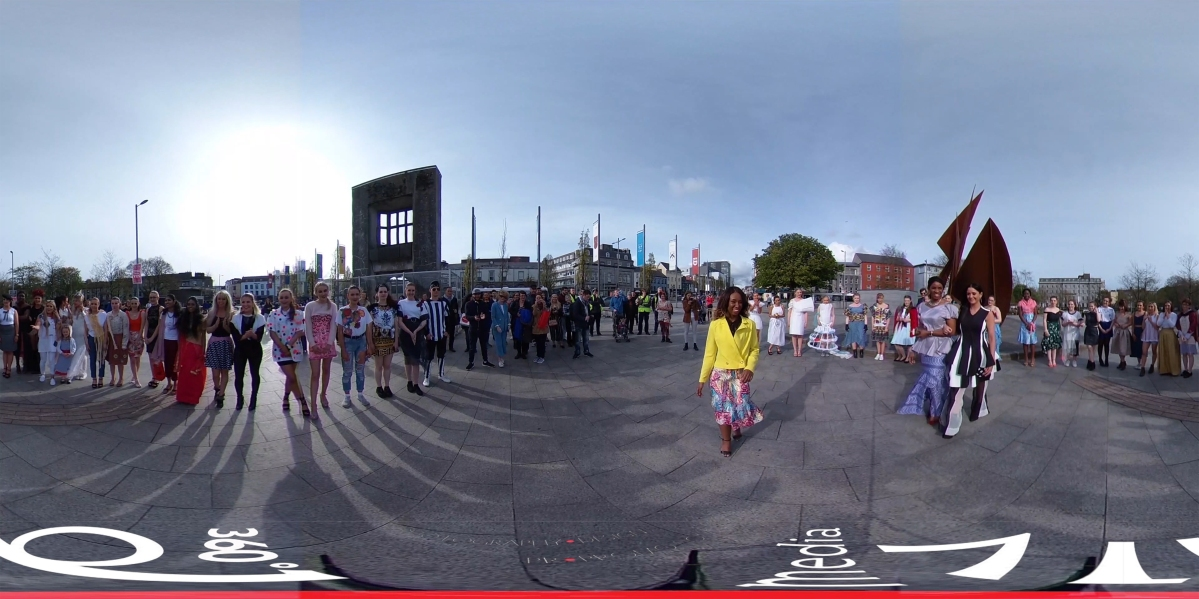 Galway Fashionistas Youth in Virtual Spheres of City | GTI Fashion Street-walk