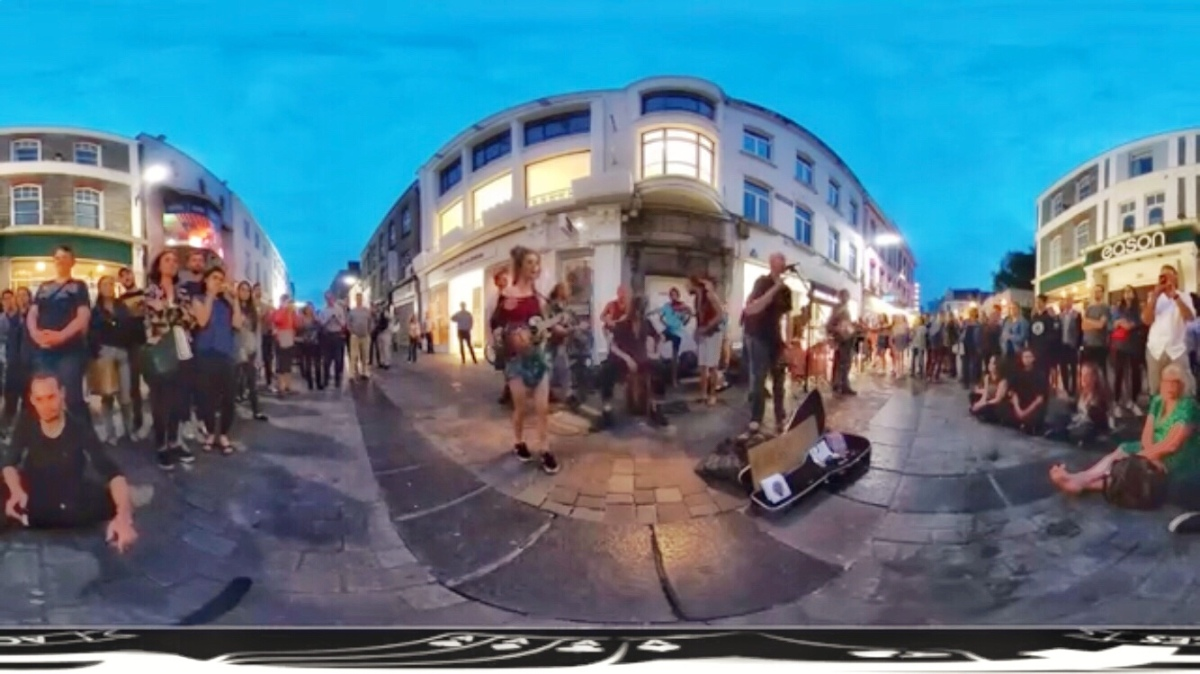 Absolute Craic in Galway | Dynamic of Street Club Busking