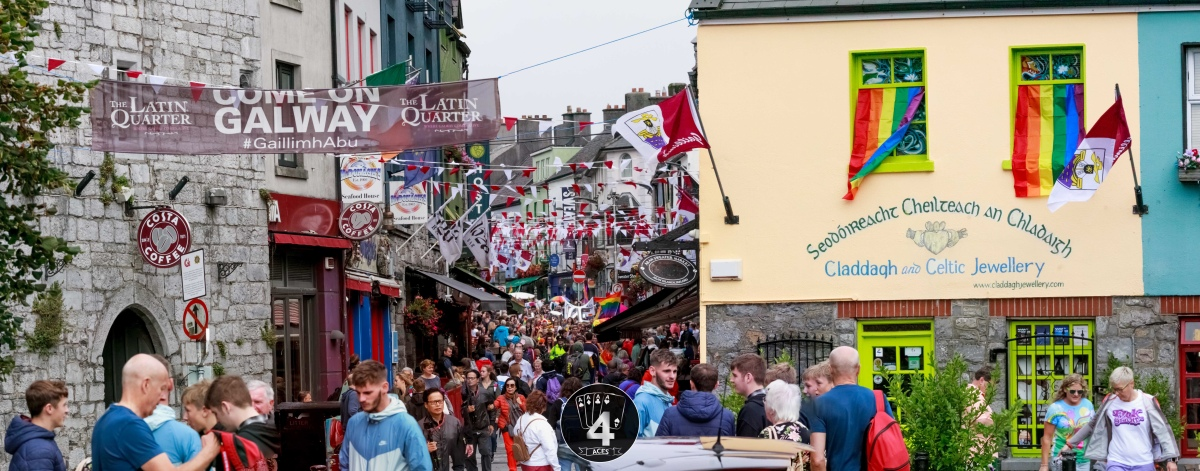 GALWAY PRIDE PARADE 2018 | Dive into the spheres from the city of tribes