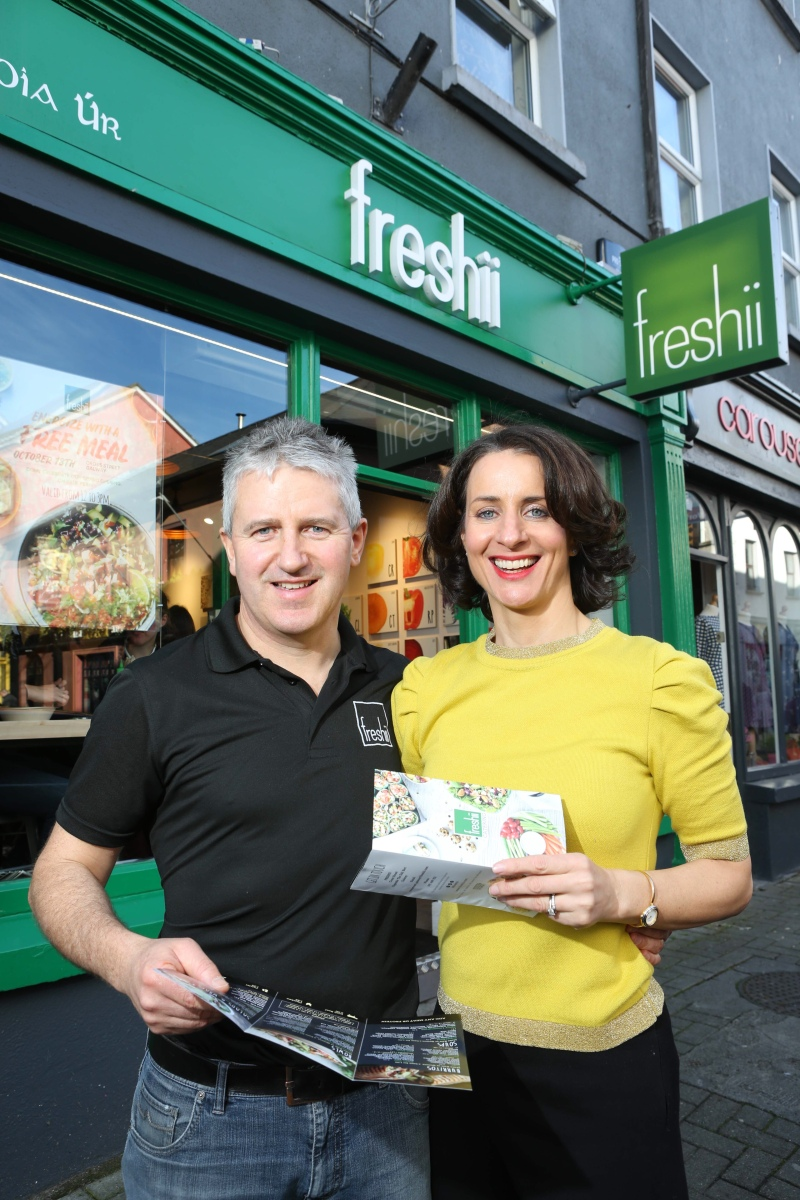 Eat and Energize for FREE this Thursday on Cross Street In Galway