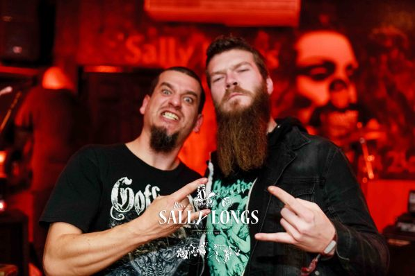 """ally Longs Celebrate 30th Anniversary and the Rock in Galway's home has started with international metal night yesterday – Thursday 25th October 2018. Mental metal 4 hours of the night stormed by the 'Stone Carver', 'Slung From A Tree' and finishing with melodic doom Gothic Metal from Slovakia by of the 12 years on international scene established Doomas performing live for Sally Longs in Galway only 