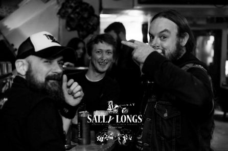 """Sally Longs Celebrate 30th Anniversary and the Rock in Galway's home has started with international metal night yesterday - Thursday 25th October 2018. Mental metal 4 hours of the night stormed by the 'Stone Carver', 'Slung From A Tree' and finishing with melodic doom Gothic Metal from Slovakia by of the 12 years on international scene established Doomas performing live for Sally Longs in Galway only 
