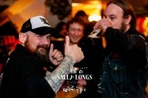 "ally Longs Celebrate 30th Anniversary and the Rock in Galway's home has started with international metal night yesterday – Thursday 25th October 2018. Mental metal 4 hours of the night stormed by the 'Stone Carver', 'Slung From A Tree' and finishing with melodic doom Gothic Metal from Slovakia by of the 12 years on international scene established Doomas performing live for Sally Longs in Galway only | show is going on in Sally's today with Dj Dan and tomorrow on Saturday 27th will the Abbeygate lower corner building will iconic murals blend inside-out with the Roadhouse rocking the stage of the pub ""Everyone Must Learn To Drink Somewhere"" 